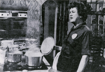 Julia Child encompasses all that I know and love about healthy spleen qi.