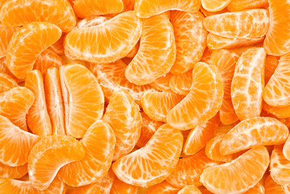 Tangerines: chasing away the winter blues.