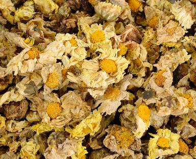 Ju Hua: dried Chrysanthemum flowers