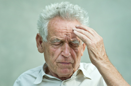 If this were my Gramps, I'd tell him to go get acupuncture for his migraine. Based on research.