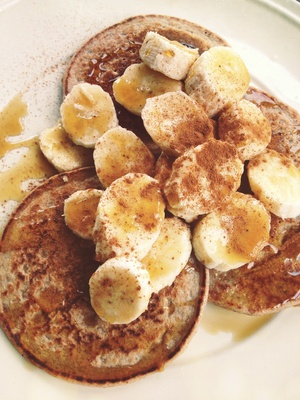 Pancakes and Bananas