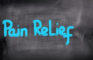 Pain Relief Concept